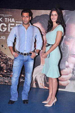 "Ek Tha Tiger - Salman Khan, Katrina Kaif at the launch of Ek Tha Tigers first song ""Mashallah"""