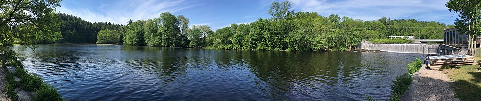 Salmon Falls River between South Berwick and Rollinsford