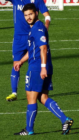 Sam Morsy - Morsy playing for Chesterfield in 2014