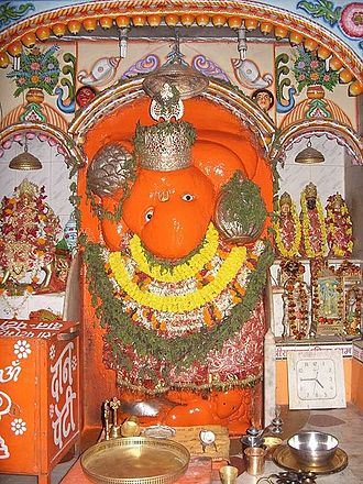 Samarth Ramdas - Lord Hanuman established by Samarth Ramdas Swami at Kashi