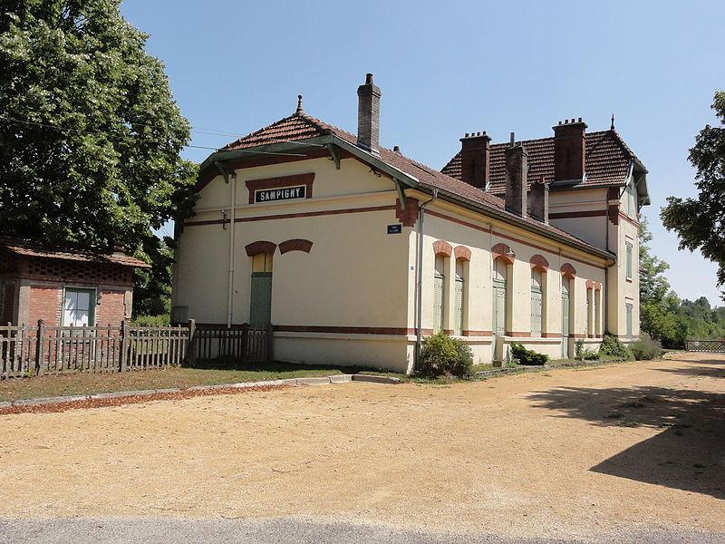 Sampigny (Meuse) ancienne gare