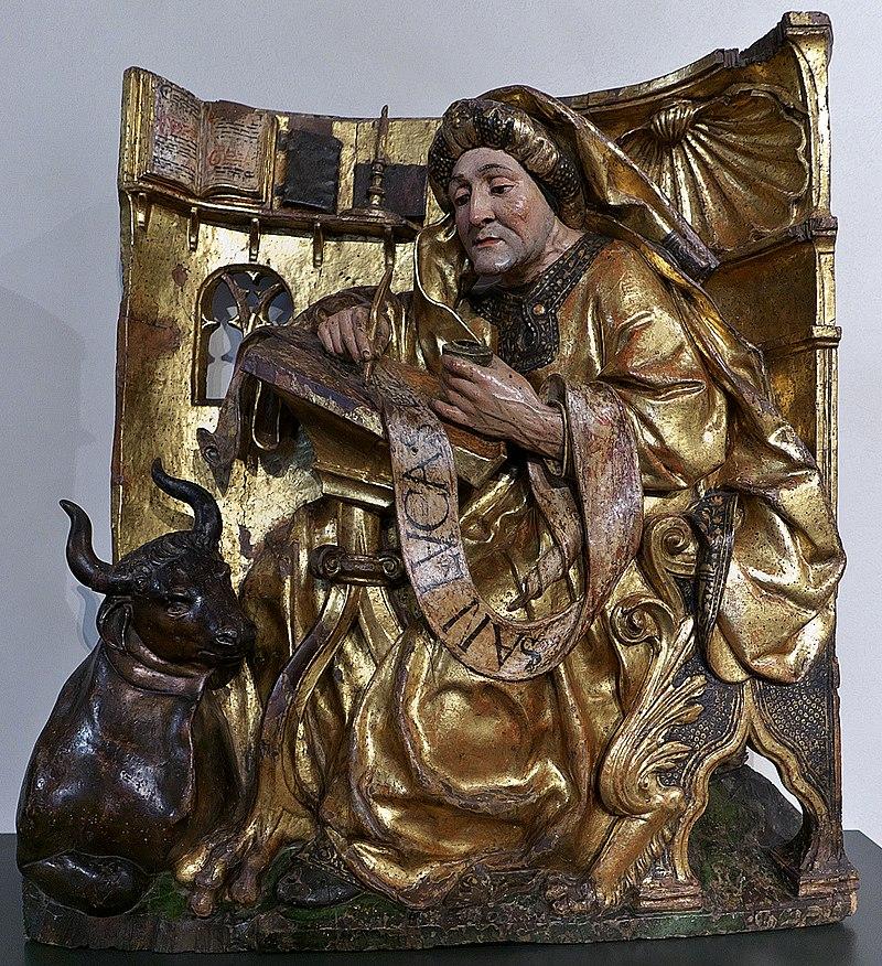 San Lucas Evangelista, Museo Nacional de Escultura.jpg