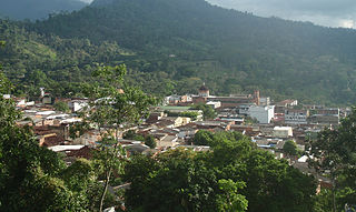 San Vicente de Chucurí Municipality and town in Santander Department, Colombia