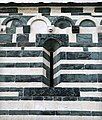 San michele di murato, fianco sx, con rilievi del 1140 ca. 05.jpg