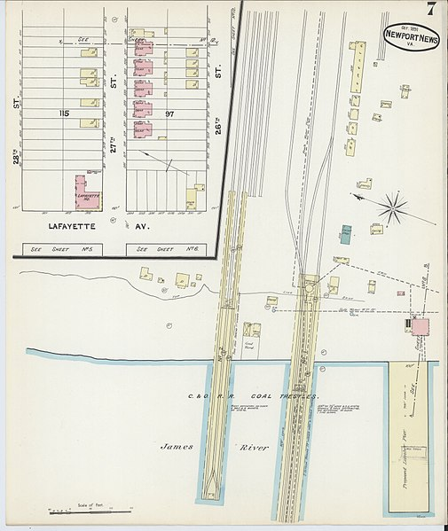 File:Sanborn Fire Insurance Map From Newport News