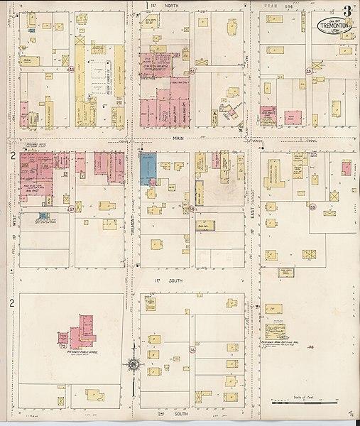 File:Sanborn Fire Insurance Map From Tremonton, Box Elder