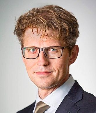 Sander Dekker - Image: Sander Dekker 2015 (1)