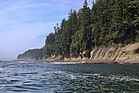 Sandstone bluffs along the Vancouver Island Coast.jpg