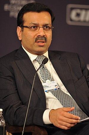 Sanjiv Goenka - Image: Sanjiv Goenka in WEF, 2009