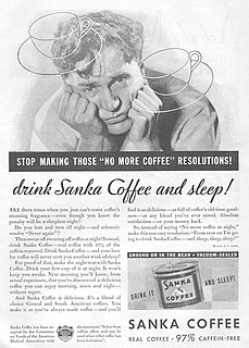 Sanka coffee brand