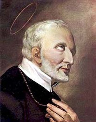 Bilocation - Image: Sant'Alfonso Liguori