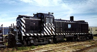 ALCO RS-2 - Image: Santa Fe loco