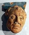 Santi buglioni, testa virile in teracotta invetriata, 1528 circa, da ospedale del ceppo a pistoia.jpg