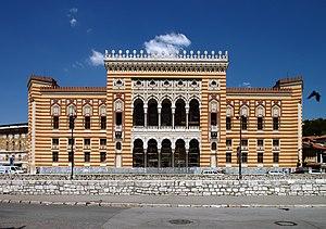 Vijećnica - Image: Sarajevo, knihovna