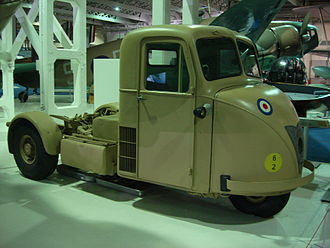 Scammell Scarab - Scarab in RAF livery