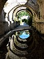 Scarico acque piovane, fontana medioevale.jpg