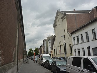 Rue d'Aerschot - Image: Schaerbeek Eglise Saints Jean et Nicolas 002
