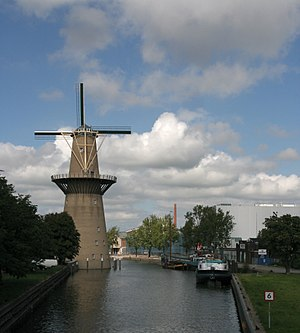 Ketel One - The Nolet windmill at the factory in Schiedam