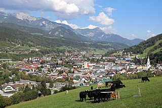 Schladming Place in Styria, Austria