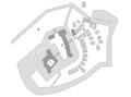 Schloss Raesfeld Lageplan 1729.png