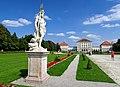Schlossgarten Nymphenburg, Parkseite, Poseidon-Statue (15. Aug. 2016).jpg