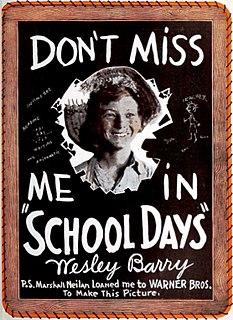 <i>School Days</i> (1921 film) 1921 film