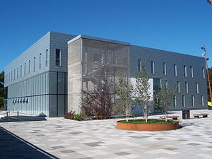 University of Kent - The School of Arts Building at Kent's Canterbury campus; it is one of several buildings constructed by the university in recent years