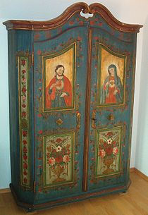 Painted Armoire For Sale