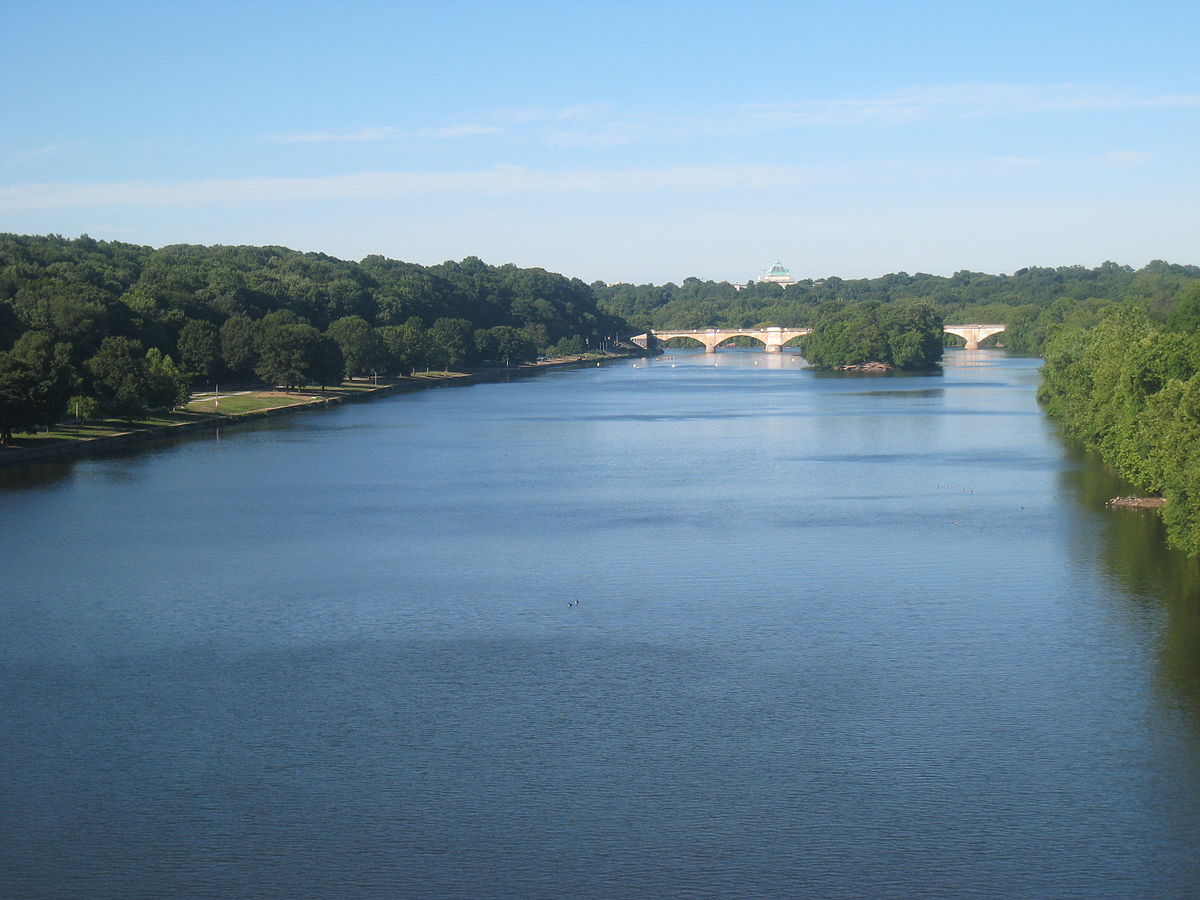Schuylkill River in Fairmount Park..JPG
