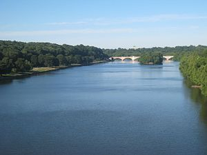 Fairmount Park - The Schuylkill River runs through the center of Fairmount Park