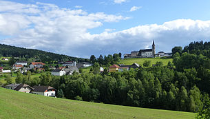 Schwarzenberg from the north