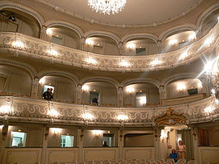 Schlosstheater Schwetzingen palace theatre in Schwetzingen, Germany