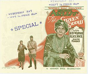 The Green Goddess (1930 film) - Pamphlet for promoting the film