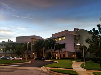 Scripps Research - Building C houses the departments of Neurobiology, Cancer Biology, and Infectious Disease at Scripps Research's Florida campus.