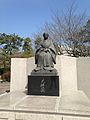 Sculpture of Tenshoin in front of Reimeikan.jpg