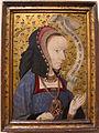 Scuola spagnola, dama delle violette, 1490 ca..JPG