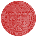Seal Hungary Guild Millers Győr (1631).png