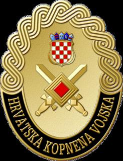 land warfare branch of Croatia