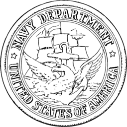 Seal of the U.S. Department of the Navy from 1879 to 1957. Seal of the United States Department of the Navy (1879-1957).png