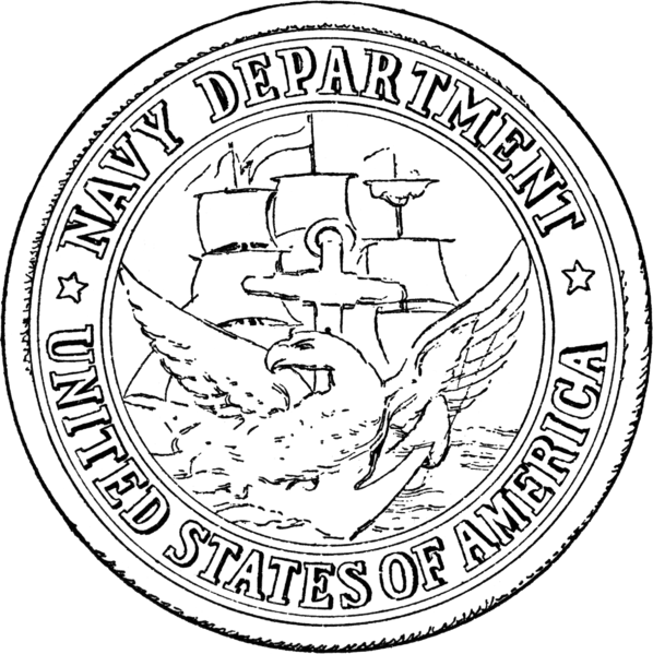 Fileseal Of The United States Department Of The Navy 1879 1957