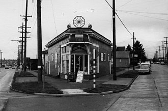 Reciprocal Recording - The old Reciprocal Recording studio in Ballard, Seattle, Washington as an antique store in the 1970s...