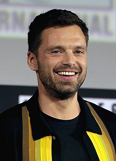 Sebastian Stan Romanian-American actor