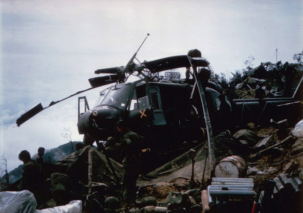 Second crashed helicopter