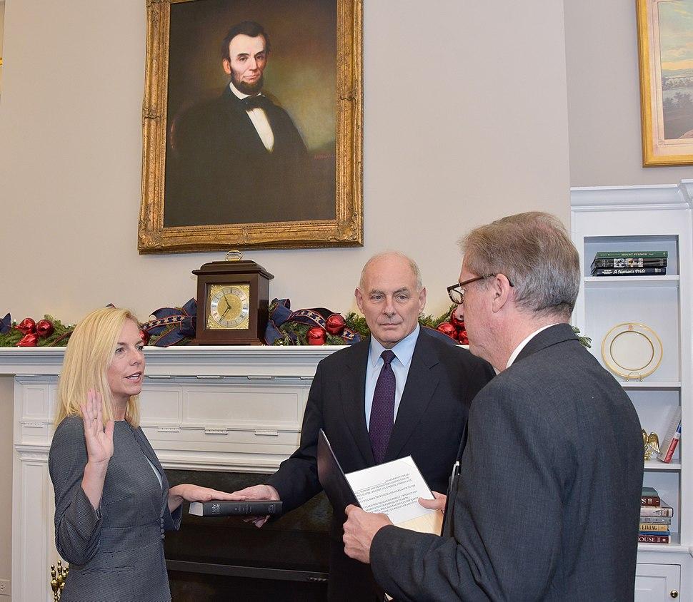 Secretary Kirstjen Nielsen sworn in