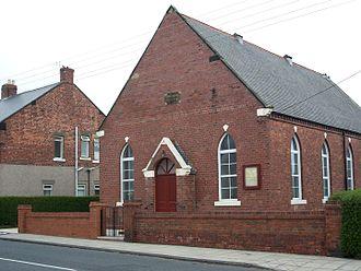 Seghill - Image: Seghill Primitive Methodist Church