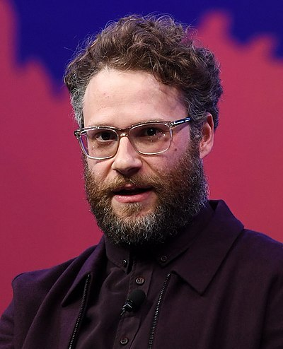 Seth Rogen, Canadian-American actor and stand-up comedian