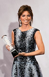 Shania Twain Canadian country pop singer-songwriter