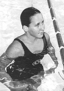 Sharon Finneran American swimmer, Olympic silver medalist, former world record-holder