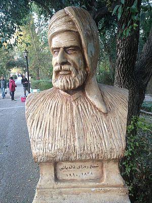 Riza Talabani - A statue of Sheikh Riza Talabani, in Sulaymaniyah (Iraq)
