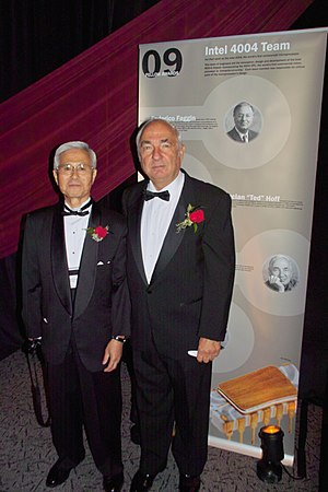 Stanley Mazor - Shima and Mazor at the Computer History Museum's 2009 Fellows Award event